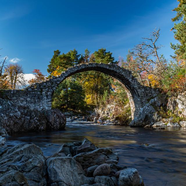 """Packhorse Bridge"" stock image"
