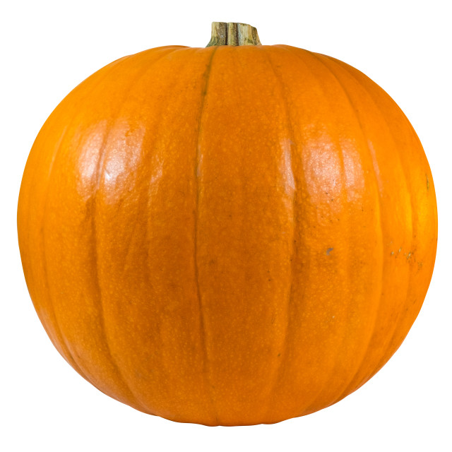 """""""Isolated Pumpkin For Halloween"""" stock image"""