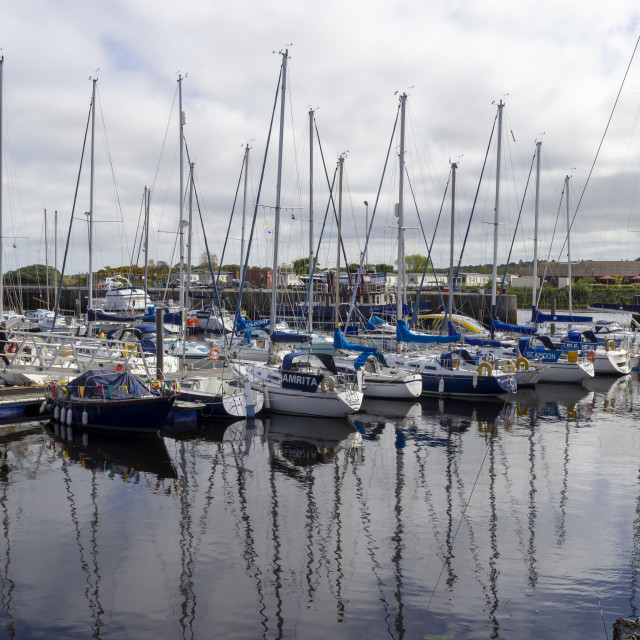 """Nairn Harbour"" stock image"