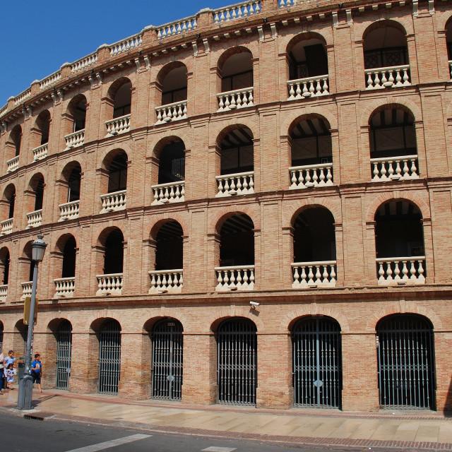 """Plaza de Toros, Valencia"" stock image"