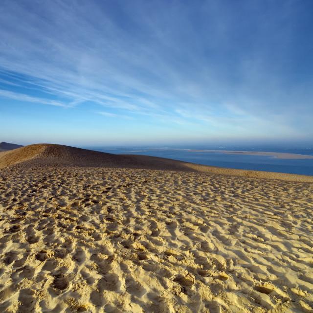 """Dune of Pilat"" stock image"