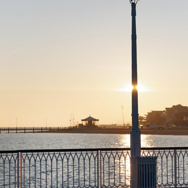 """Arcachon pier"" stock image"