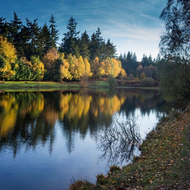 """Bourley Reservoir #2"" stock image"