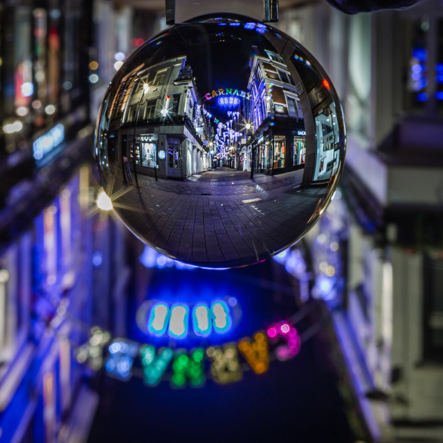 """Crystal Ball Carnaby Street"" stock image"