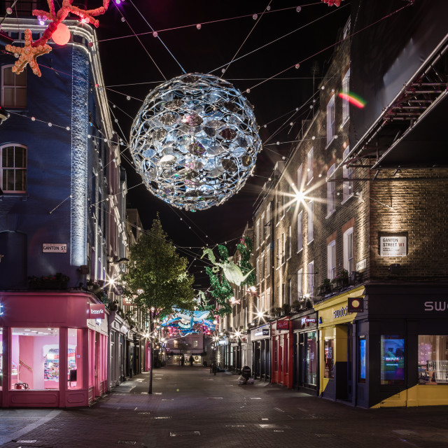 """Sustainability On Carnaby Street."" stock image"