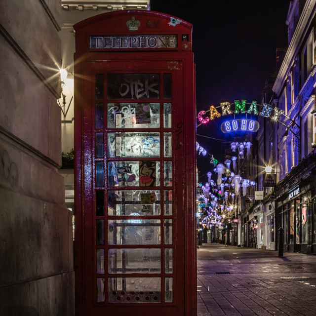 """A deserted Carnaby Street."" stock image"