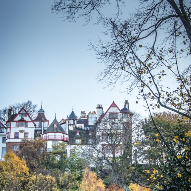 """Autumn in Edinburgh"" stock image"