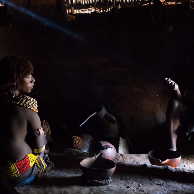 """Bana Tribe"" stock image"