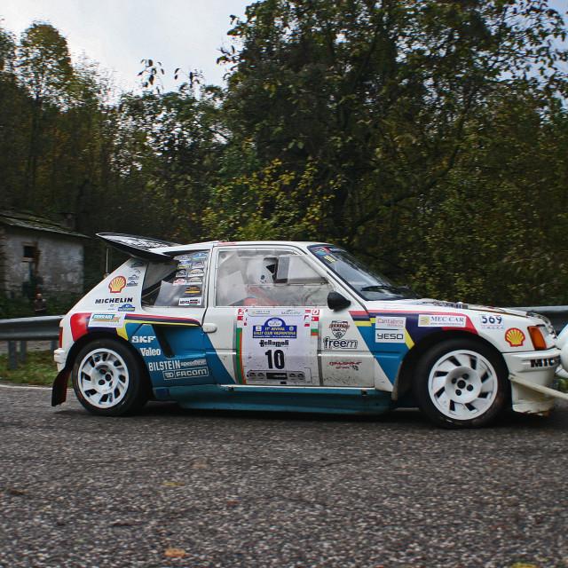 """Peugeot 205 Turbo 16"" stock image"