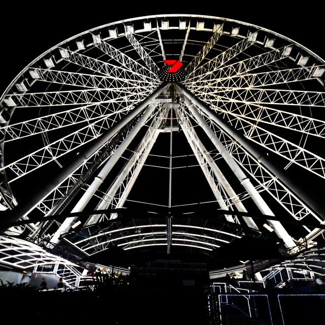 """The Wheel of Brisbane"" stock image"