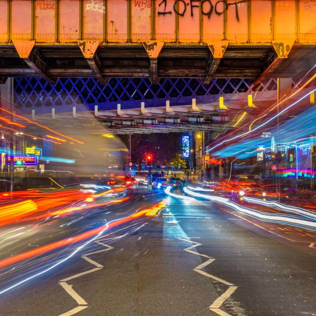 """""""Waterloo - London, UK"""" stock image"""