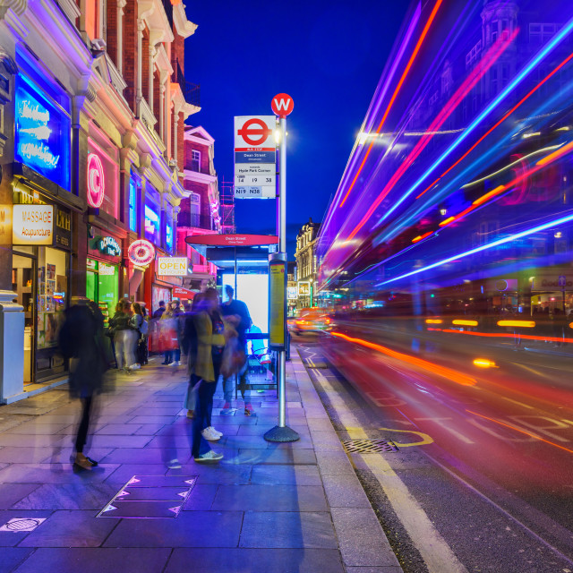 """West End - London, UK"" stock image"
