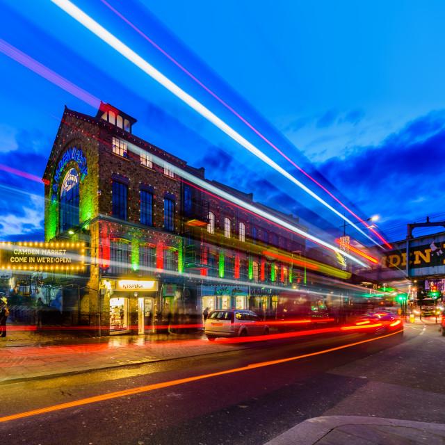 """Camden Town - London, UK"" stock image"