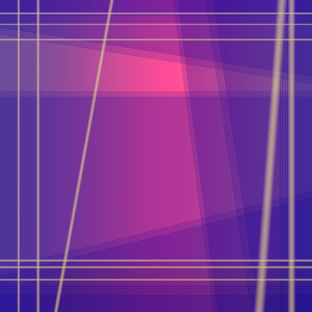 """Magenta purple blend with pink geometric square background with"" stock image"