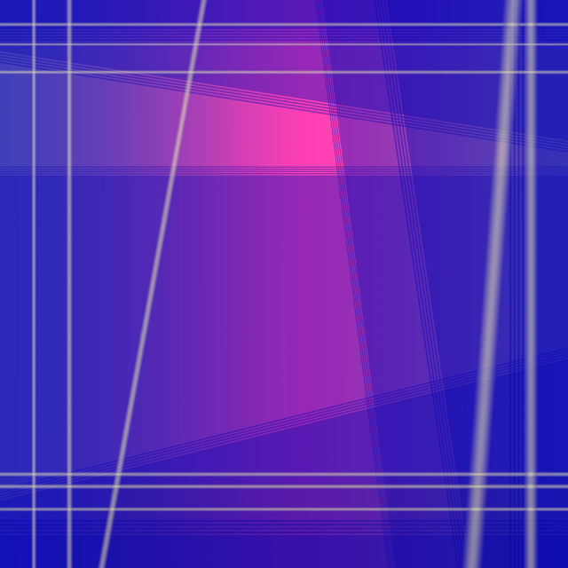 """Ultramarine blue purple blend with pink geometric square backgro"" stock image"