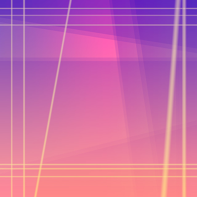 """Magenta purple blend with salmon pink geometric square backgroun"" stock image"