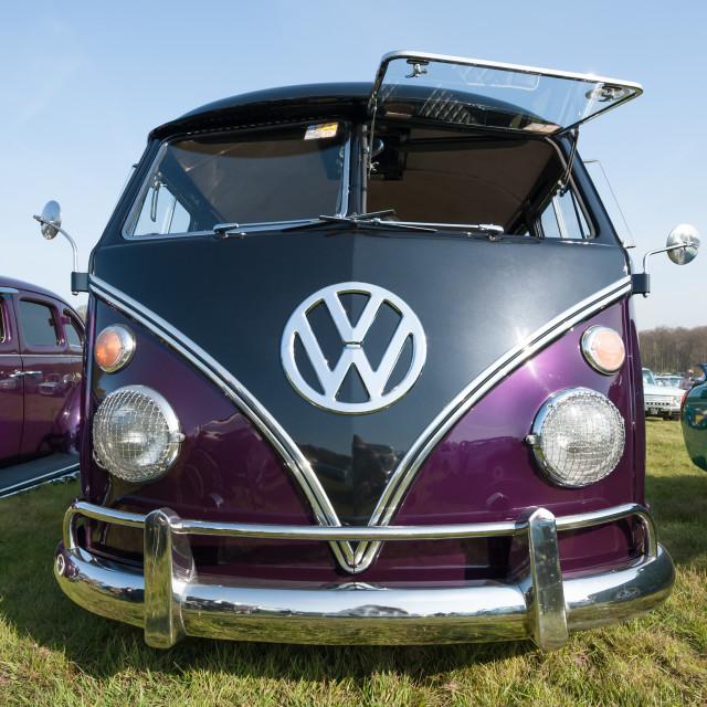 """""""Volkswagen Camper"""" stock image"""
