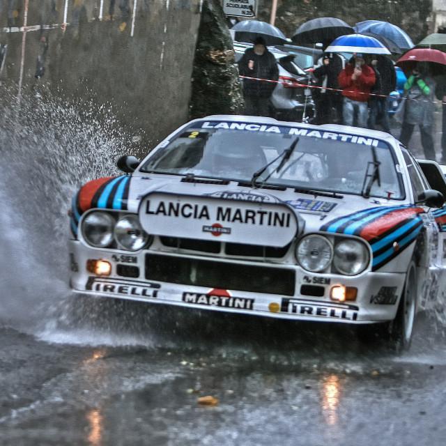 """Lancia 037 Martini"" stock image"