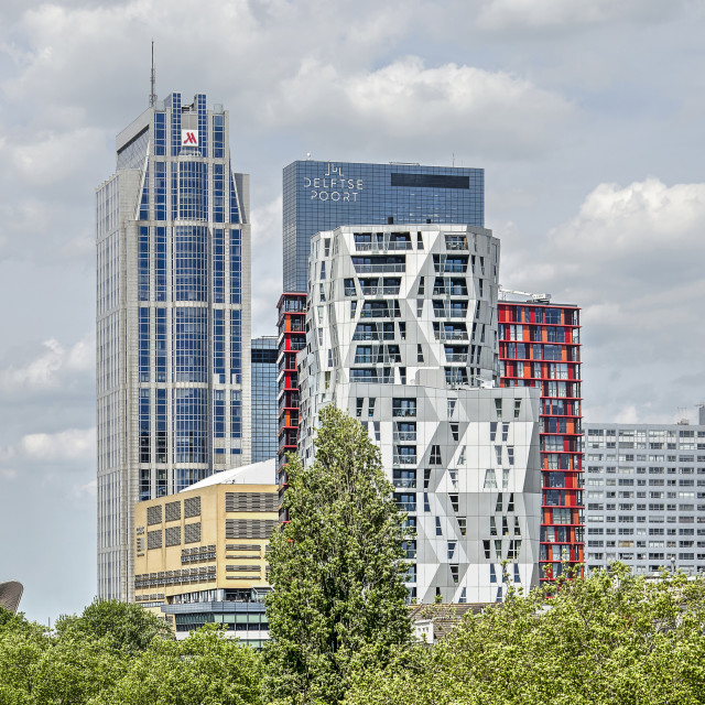 """""""rotterdam central district"""" stock image"""