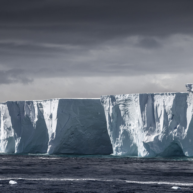 """""""Tabular Ice Berg"""" stock image"""