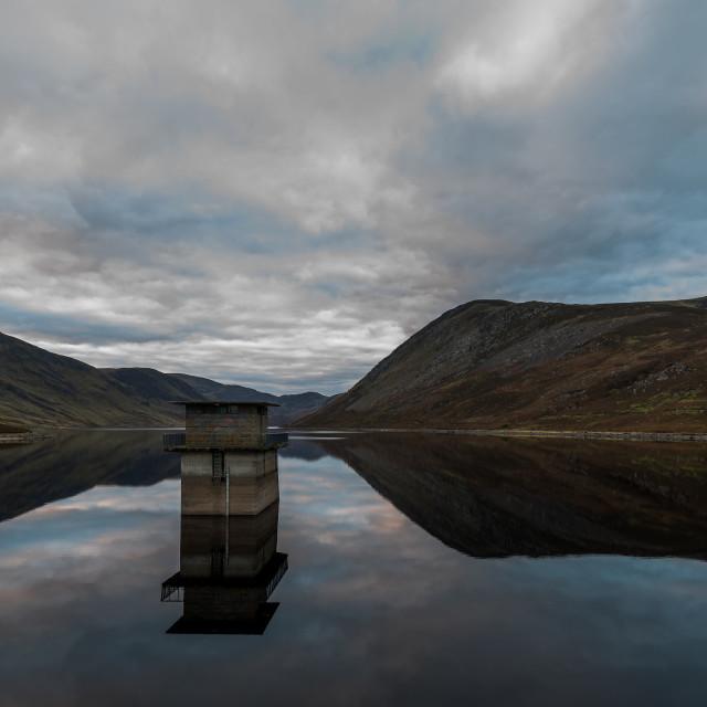 """Loch Turret"" stock image"