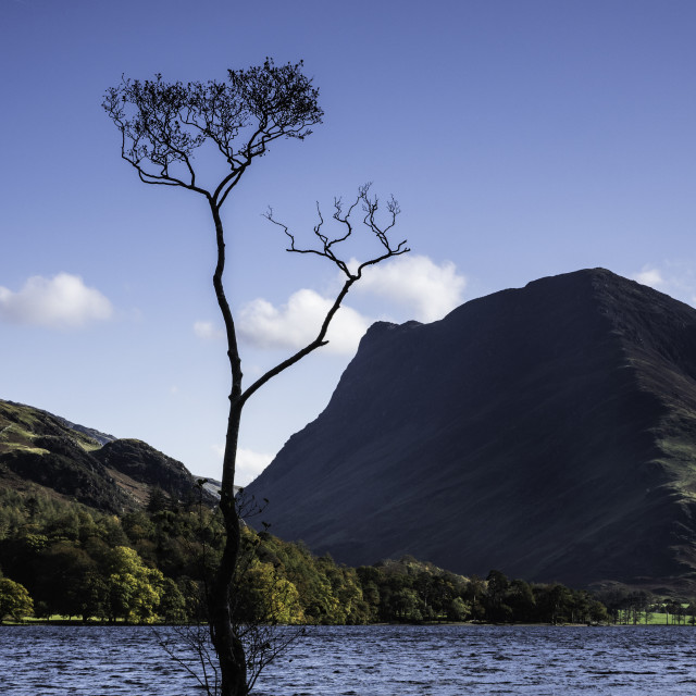"""""""Lake District - Buttermere"""" stock image"""