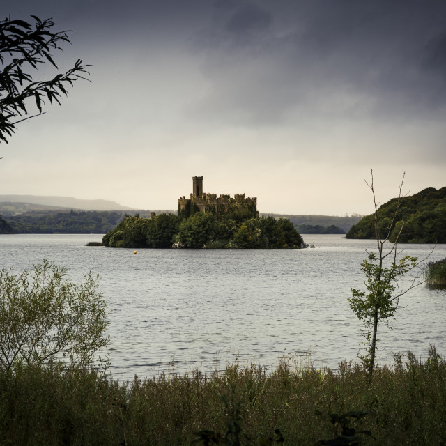 """""""Old Castle in Ireland"""" stock image"""