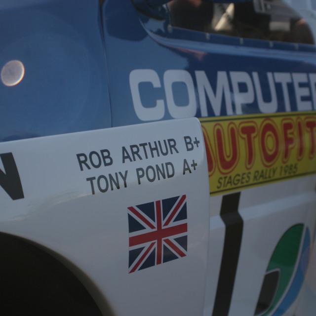 """""""6R4 MG Metro - Tony Pond"""" stock image"""