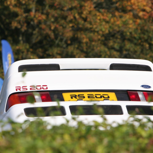 """RS 200"" stock image"