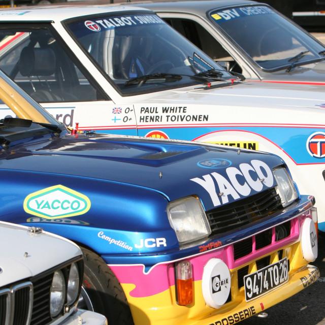 """Renault 5 Maxi turbo"" stock image"