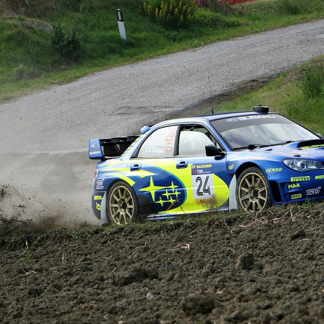 """Subaru Impreza"" stock image"