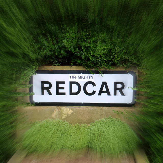 """""""The Mighty Redcar"""" stock image"""