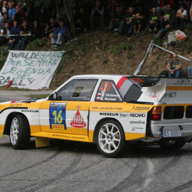 """Audi Quattro S1E2 rep"" stock image"