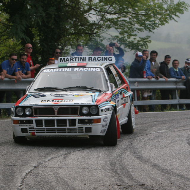 """Lancia Delta Integrale"" stock image"