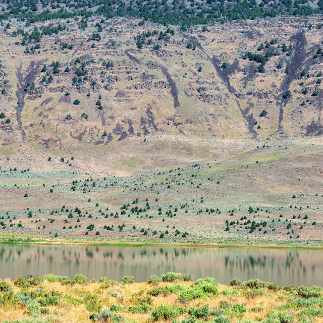 """Steens Mountains Landscape"" stock image"