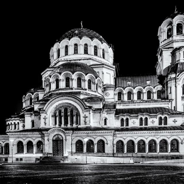 """Alexander Nevski Cathedral in Sofia, Bulgaria"" stock image"