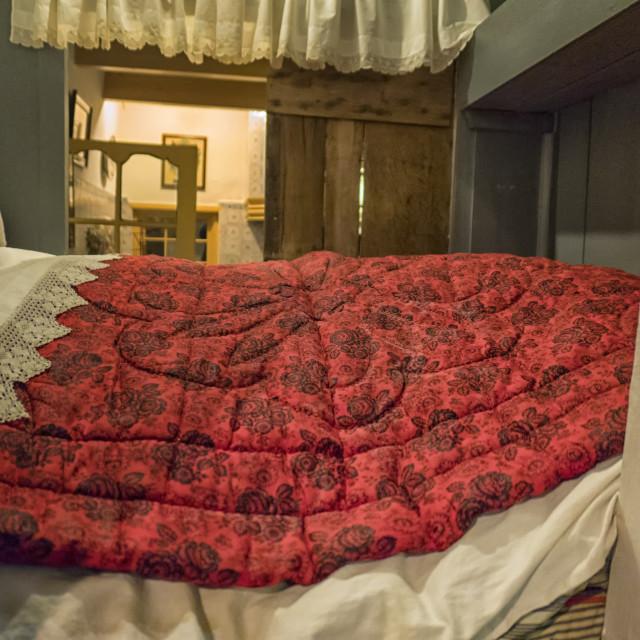 """Antique bedding"" stock image"