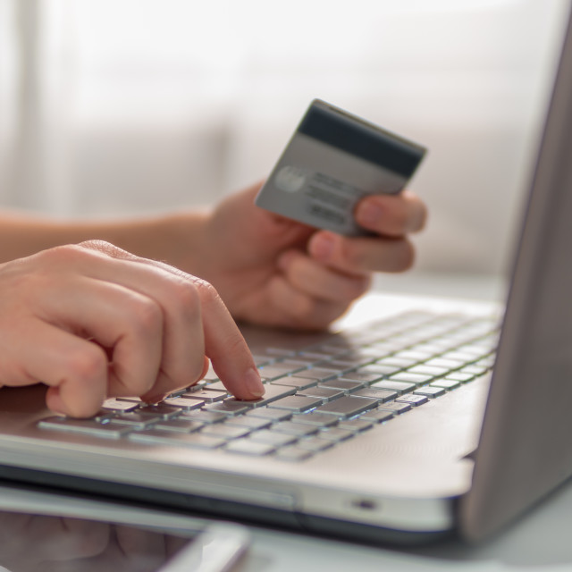 """""""Online shopping concept"""" stock image"""