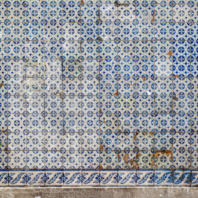 """""""Traditional Portuguese Tiles"""" stock image"""