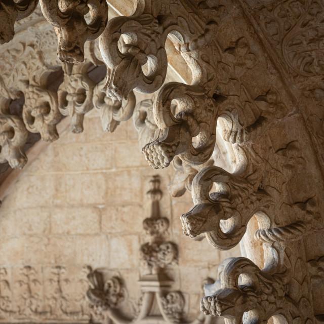 """Igreja Santa Maria de Belém"" stock image"