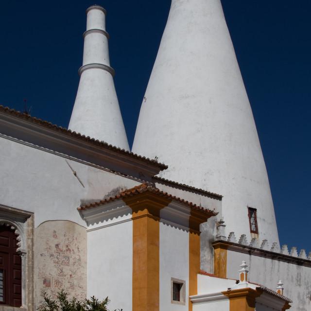 """Palácio Nacional de Sintra"" stock image"