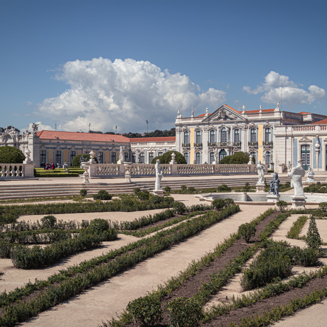 """The Queluz Palace"" stock image"