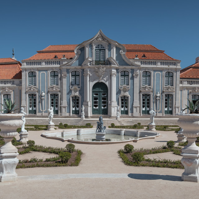 """""""The Queluz Palace"""" stock image"""