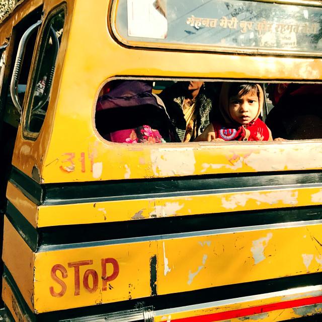 """""""School Bus"""" stock image"""