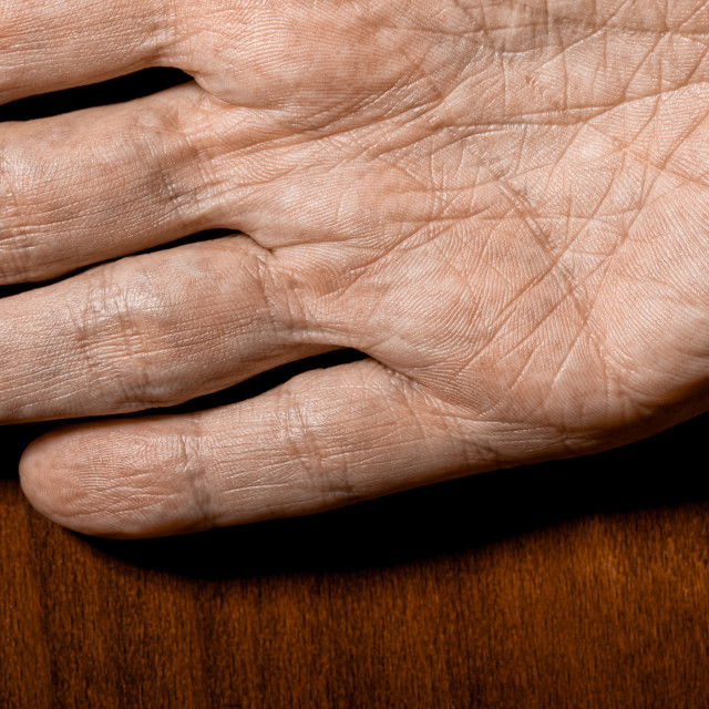 """""""Man's hands detail"""" stock image"""