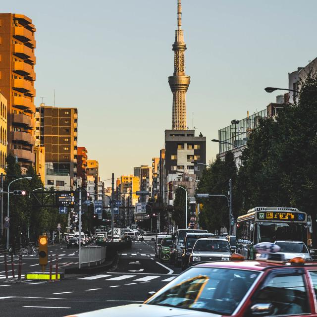 """Tokyo Tower"" stock image"
