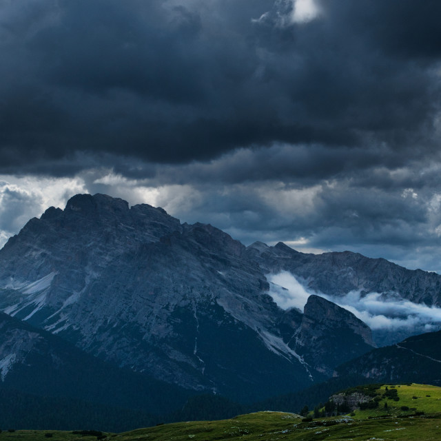 """""""Silence before a storm"""" stock image"""