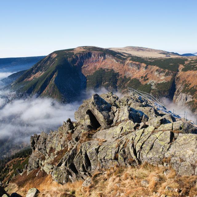 """Karkonosze Landscape From Sniezka Mountain"" stock image"