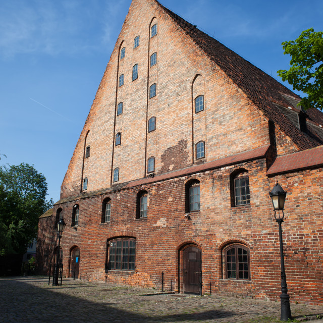 """Great Mill in Gdansk"" stock image"