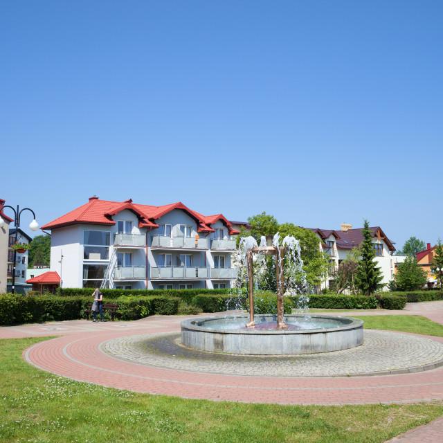 """""""Wladyslawowo Town in Poland"""" stock image"""